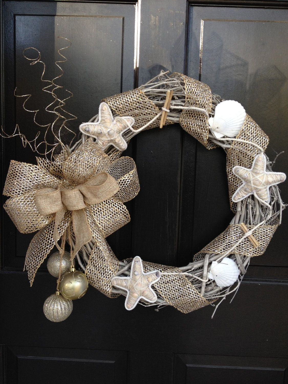 Nautical Christmas Wreath.Pin On Wreaths