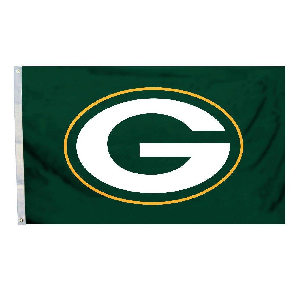 Logo Flag 3ft X 5ft Green Bay Packers Green Bay Packers Team Green Bay Packers Logo Packers Team