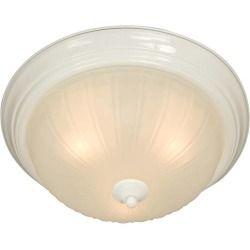 Maxim 5830FTWT 1 Light Flush Mount in White Good