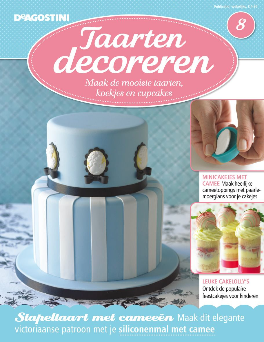 Taarten Decoreren issue 8   Magazine covers   Pinterest   Magazine     Taarten Decoreren issue 8