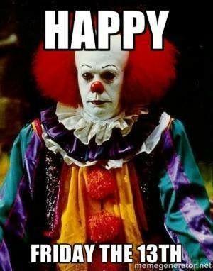 Friday The 13th Birthday Meme : friday, birthday, Martinez, Stephen, Friday, Memes,, Happy, 13th,, Funny, Memes