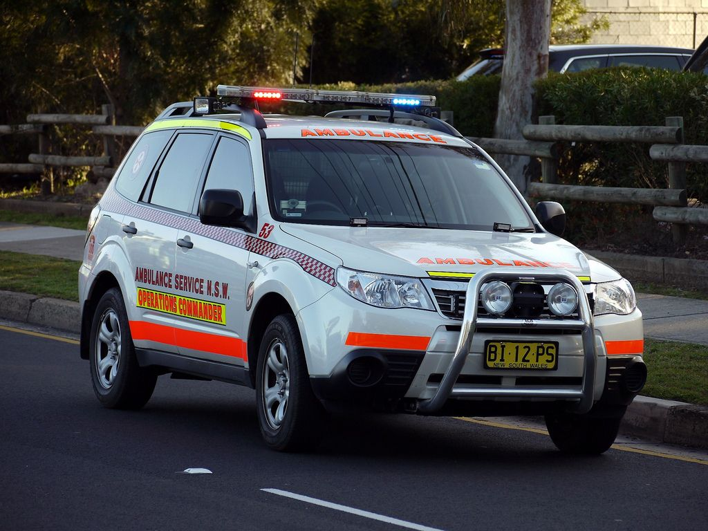 Ambulance Service NSW Subaru Forester AWD Operations