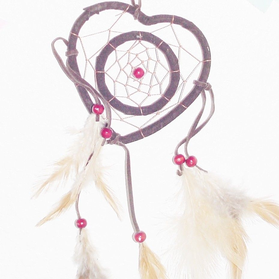 Cherokee Dream Catcher Simple Heart Dream Catcher Idea #1  Craft Ideas  Pinterest  Dream Design Ideas