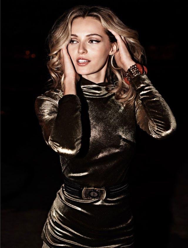 Valentina Zelyaeva by David Burton for <em>Elle Russia</em>