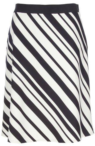 Misses Evan Picone Mali Stripe ALine Skirt $38.40