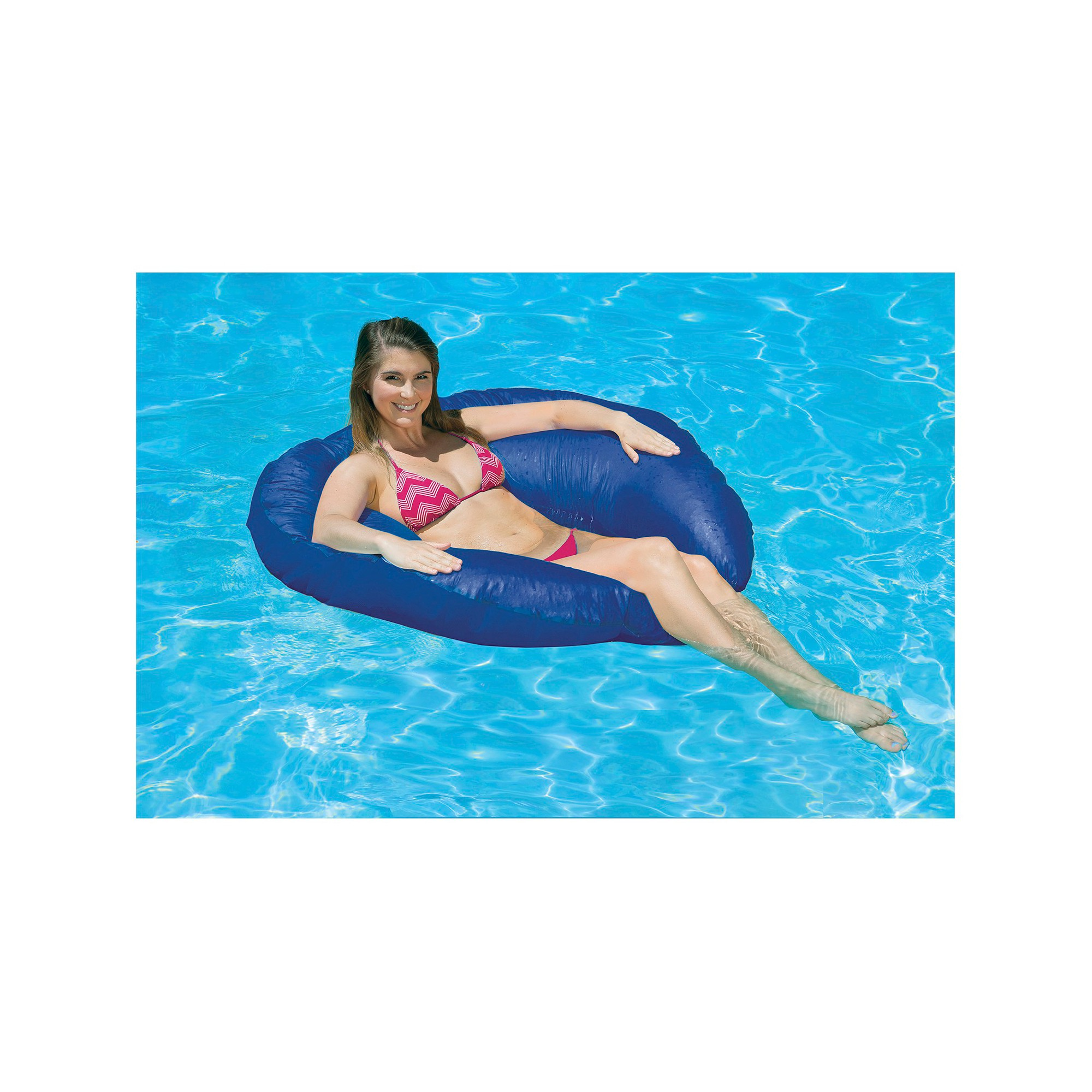Poolmaster Sun Drifter Bean Bag Style Float Blue