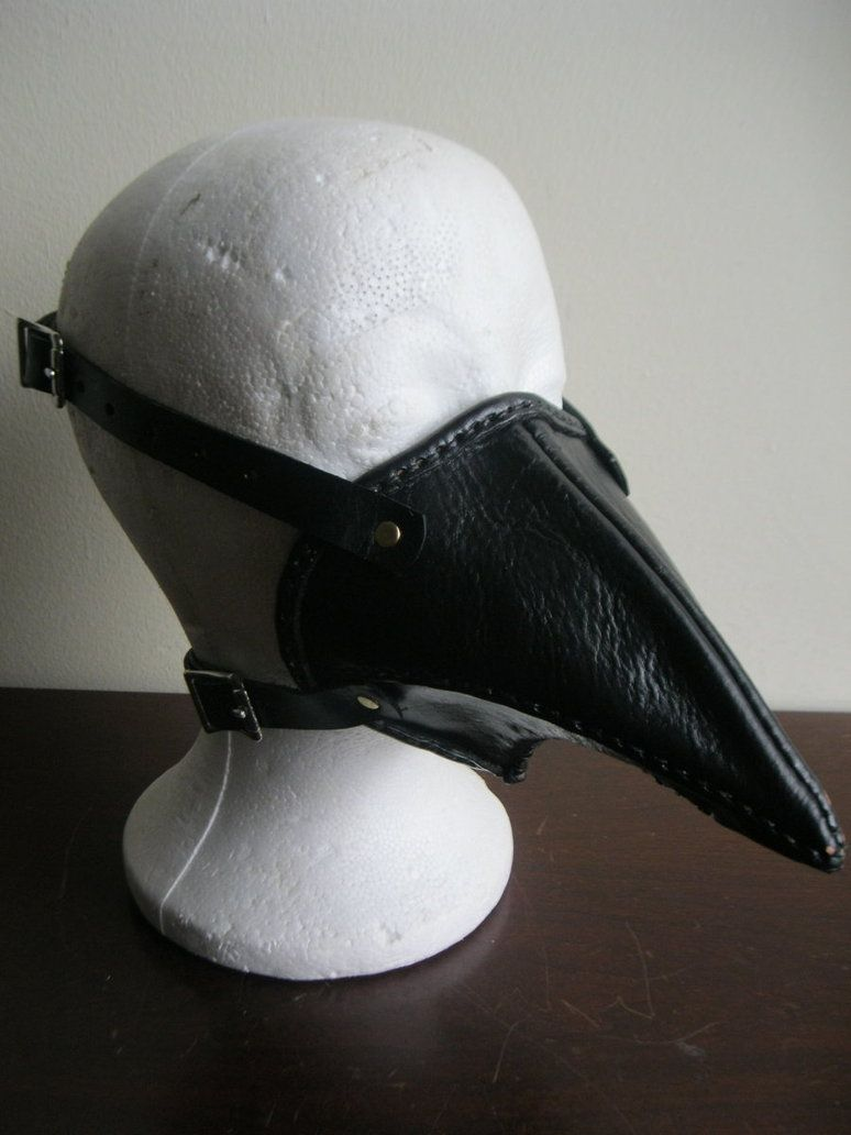 Leather Bird Beak Mask by ~passbyguy on deviantART   DIY ...