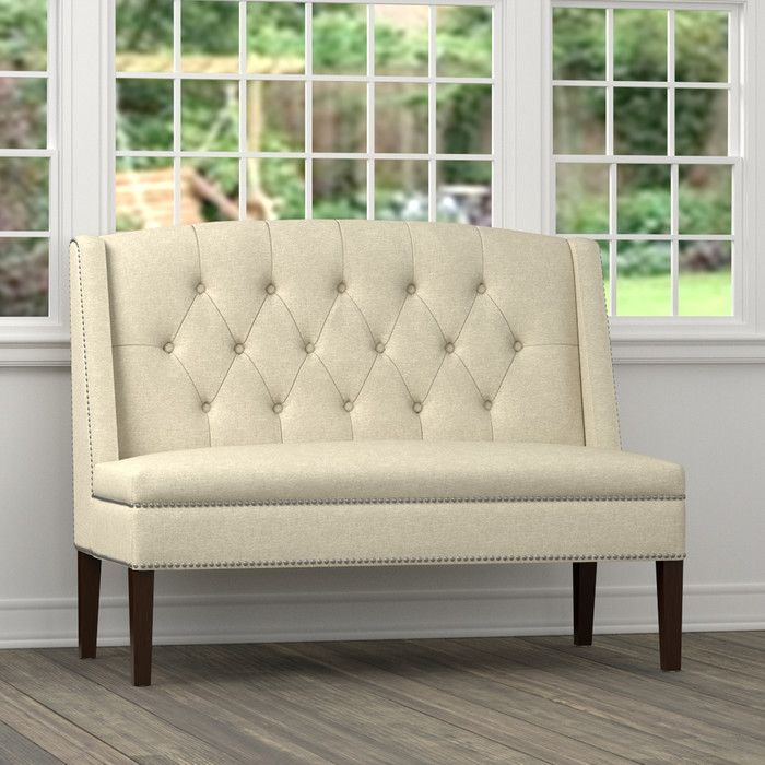 Alcott Hill Dansville Settee Sofa & Reviews | Wayfair | D | Pinterest