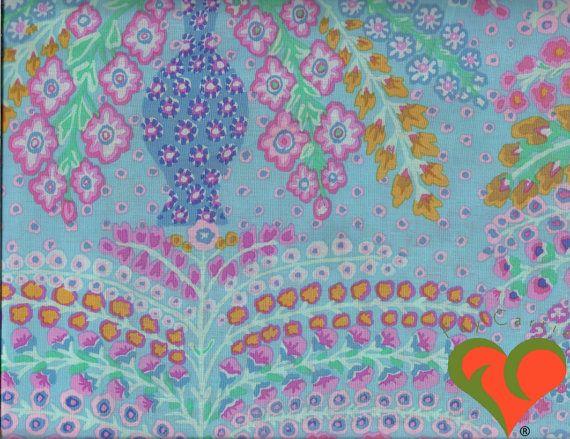 SALE: Kaffe Fassett Persian Vase Duck Egg Fabric by FayCarrieQAOT
