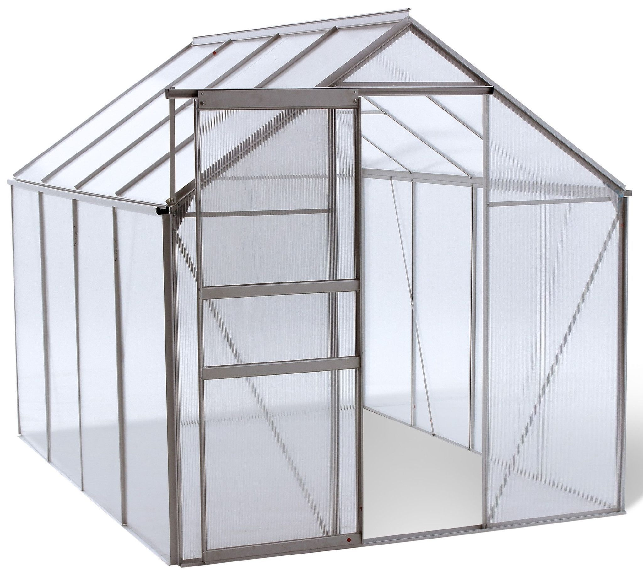Let Ogrow Bring Your Green Dreams To Life With This Walk In 6 X 8 Lawn And Garden Greenhouse With Heavy Duty Aluminum Frame Gewachshaus Gewachs