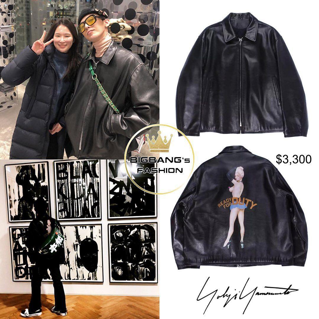Bigbangsfashion On Instagram Yohji Yamamoto Ready For Duty Leather Jacket 3 300 Gdragon Gd Jiyong Kwonjiyong Bigbang Vip Vi Fashion Style Bigba [ 1080 x 1080 Pixel ]