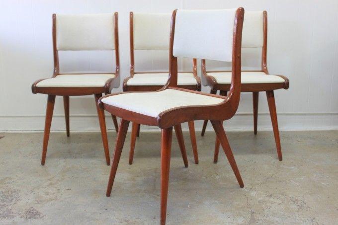 Jon Jansen Dining Chairs X4 Dining Chairs Chair Retro Dining