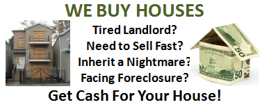 """We'll buy the house """"AS-IS"""", and will never ask you to  make a single repair."""