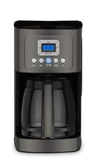 Cuisinart Dcc 3200bks Perfectemp Coffee Maker Black Stainless Steel Coffee Maker Cuisinart Coffee Maker Glass Carafe