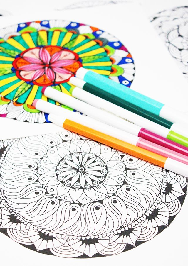 alisaburke- new coloring pages in the shop! | Coloring Patterns ...