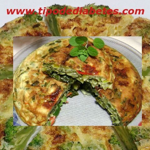 Tortilla De Verduras Es Una Receta 100 Saludable Para Una