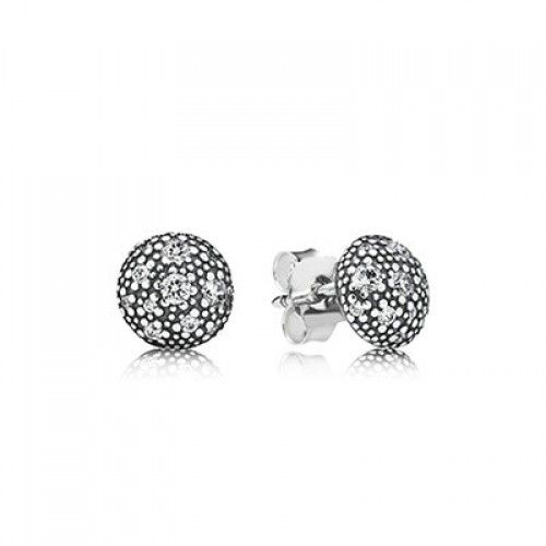 Authentic Pandora Cosmic Stars With Clear Cz Stud Earrings Clearance