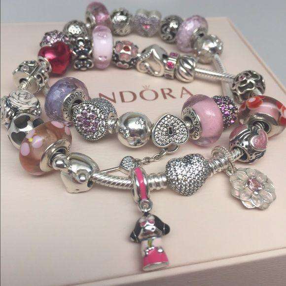 Pandora Korean Doll Charm Bracelets