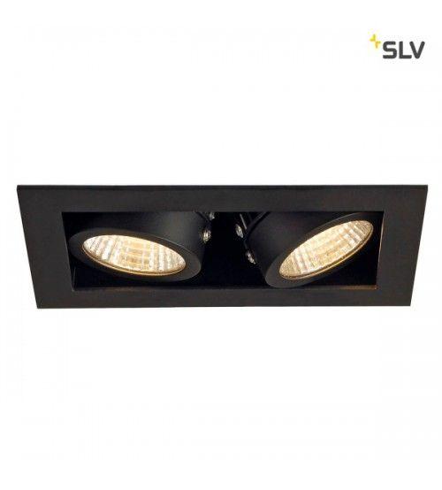 Inbouw Spot Kardan 230 Volt 2x Led Spots Zwart 3000k Dimbaar Inbouw Verlichting Inbouw Plafond En Lampen Spotjes