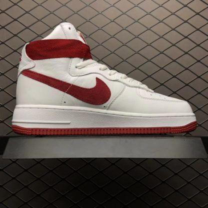 separation shoes f5b0e c44de Nike Air Force 1 High Retro QS Nai Ke Summit White 743546-100-4