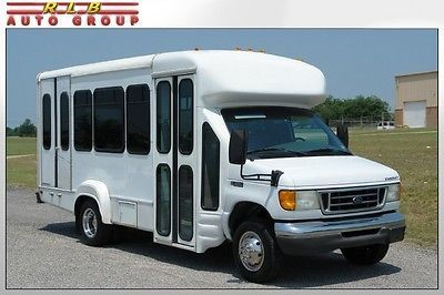 2003 Ford E 350 Starcraft 12 Passenger Raised Roof Shuttle Bus Very Low Miles Exceptional One Owner Only 37 000 Interior Architecture Design Starcraft Bus