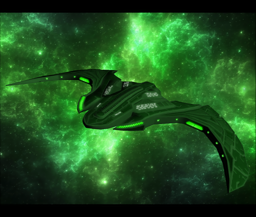 Newstyle Romulan Lightduty Battlecruiser Art Ships