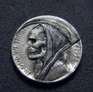 Reaper coin (Hobo Nickel)