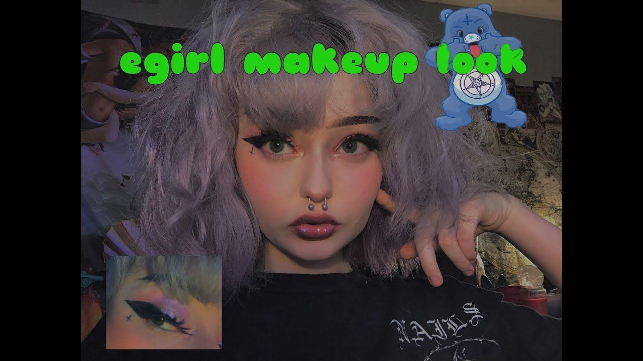 Basic Egirl Makeup Look Makeup Looks Makeup Makeup Tutorial Video