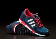 87bc6026463d Adidas ZX 850 K Tribe Blue Red (D67822)