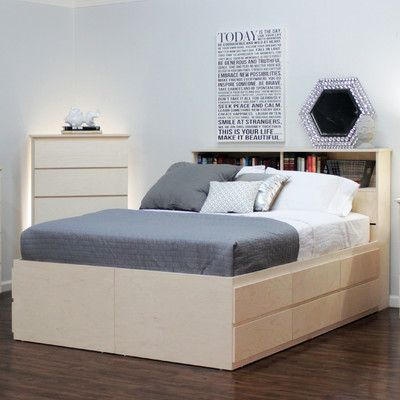 Platform Bed By Gothic Furniture 1950