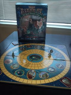 221b Baker Street: Sherlock Holmes and the Time Machine by University Games