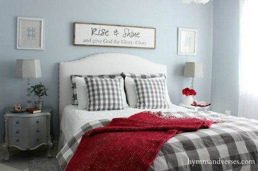 Neutral bedrooms ideas with a pop of color 7 #graybedroomwithpopofcolor