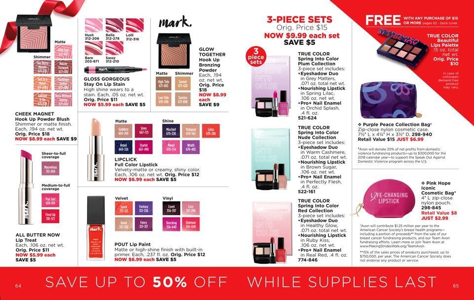 Avon Outlet Brochure Campaign 26 Campaign 1 Effective