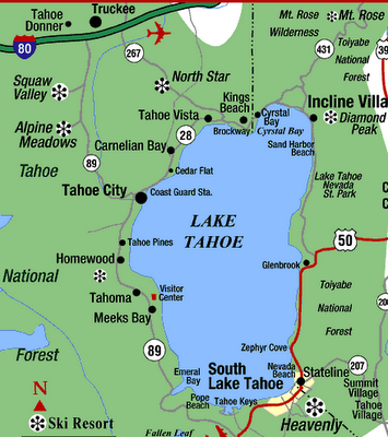 Take Me Back Loved Lake Tahoe We Stayed In Tahoe City And Ate At