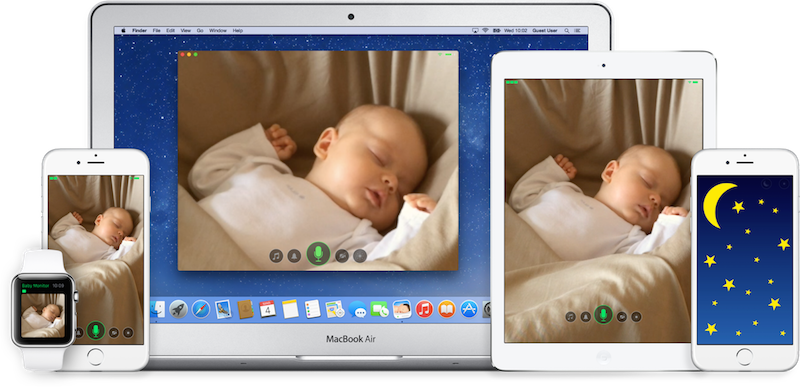 Cloud Baby Monitor Unlimited Range Video Baby