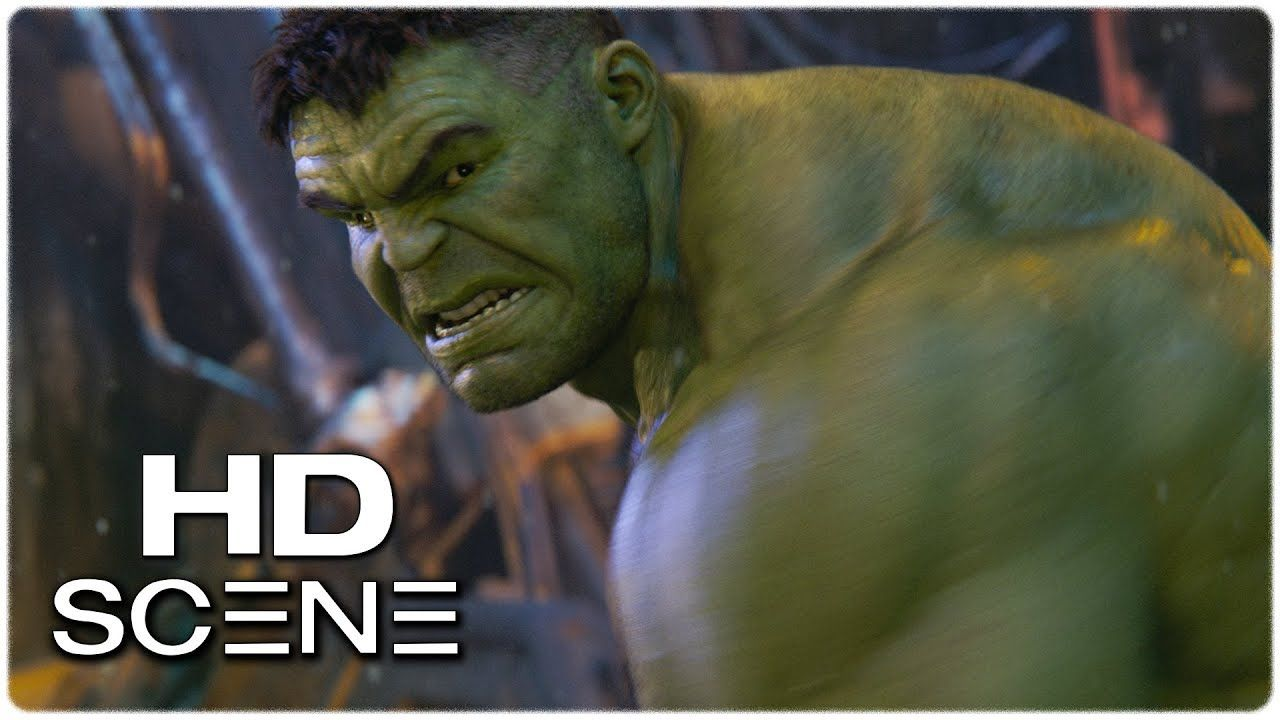 Hulk vs Thanos Fight Scene (VFX)  7fa326b242e