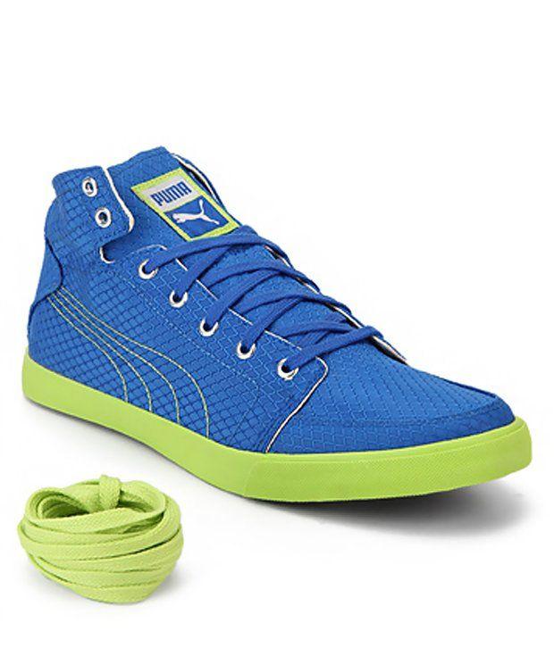 Puma Blue Sneaker Shoes - http://brandedstore.in/product/puma-blue-sneaker-shoes/