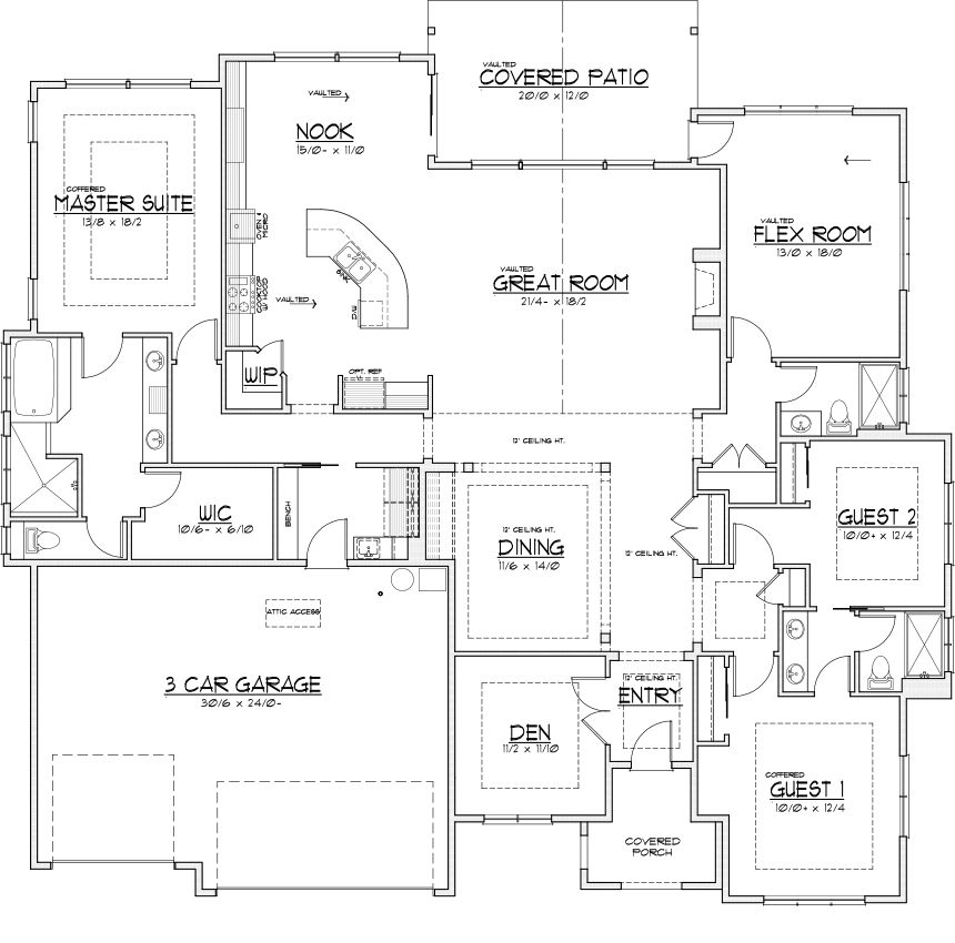 Floor Plans, New Homes For Sale