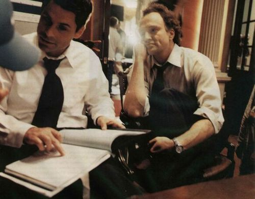 Josh Lyman & Sam Seaborn. Makin' policy & breakin' hearts. The West Wing. <3