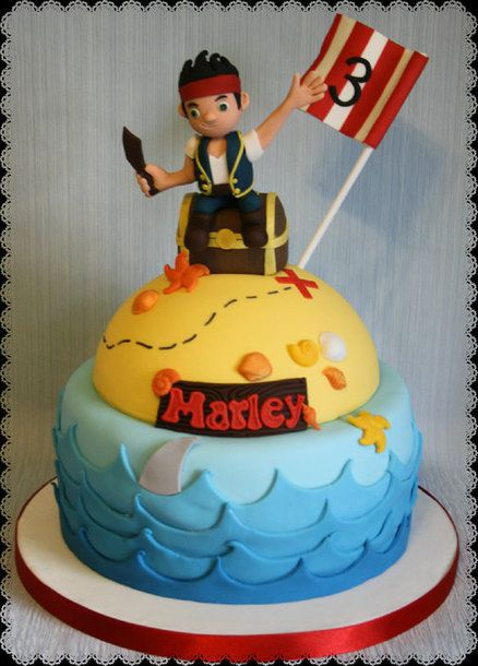 Neverland Pirates Cake Cake Themed Birthday Cakes