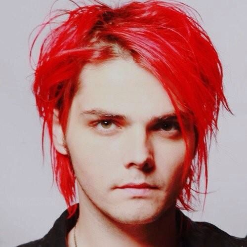 Pin by James Dion on My CHEMICAL ROMANCE | Gerard way red ...