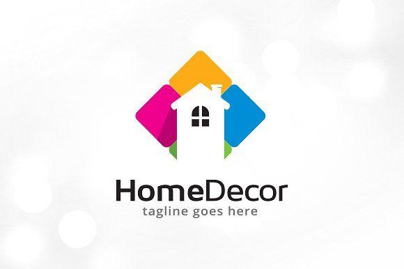 Home Decor Logo Template Decor Logo Interior Decor Logo Logo Design Creative