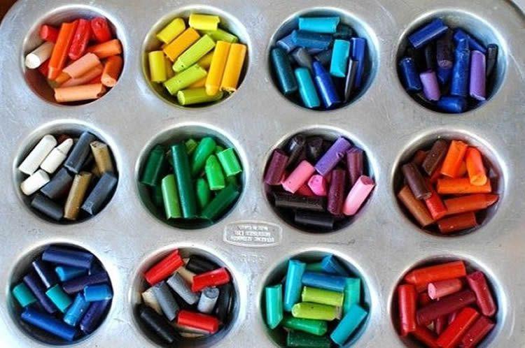 Com reciclar ceres de colors   Manualidades, Crayones derretidos y ...