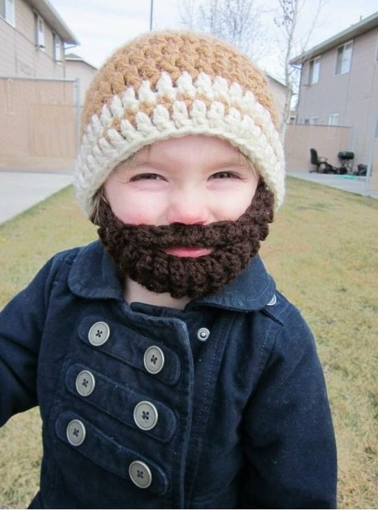 Barbe de kid | Girls and boys | Pinterest | Gorros, Tejido y Gorros ...