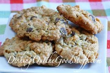 killer cookies- chocolate chips, coconut, oatmeal, rice crispies...