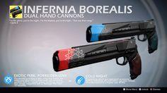 Infernia Borealis (Exotic Hand Cannon Concept) by Rageblade66