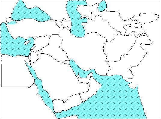 middle east outline Social Studies Pinterest Social studies