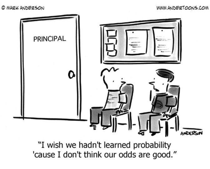 LOL! Probability | Cool Math Stuff!!! | Teacher cartoon