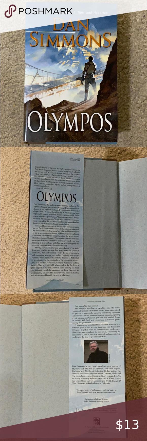 Olympos By Dan Simmons Dan Simmons Simmons Dan