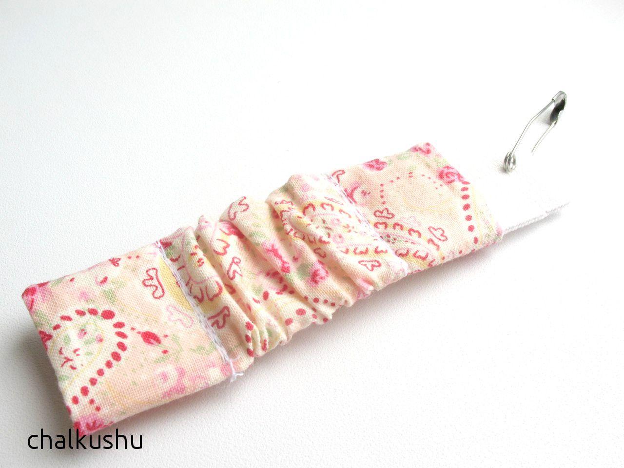 Платочек на резинке для девочек МК | Детская повязка на ...